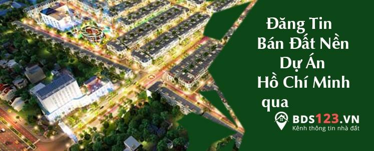 Đăng tin bán đất nền dự án qua bds123.vn